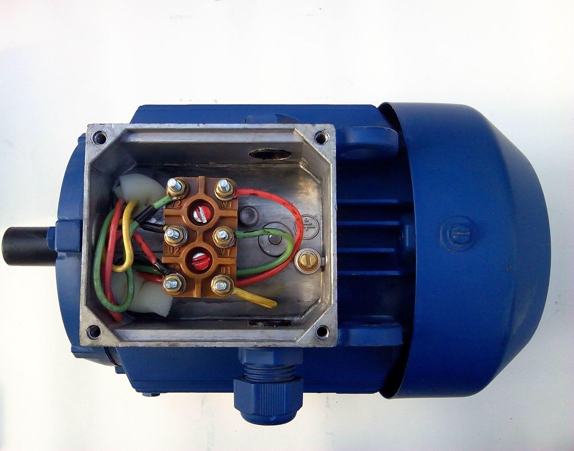 Электродвигатель асинхронный схема фото
