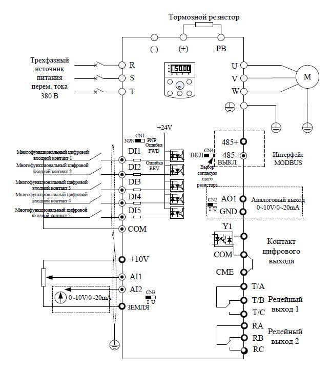 Частотник веспер схема